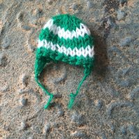 エケコ人形用小物 ニット帽(12.5〜15センチ) G