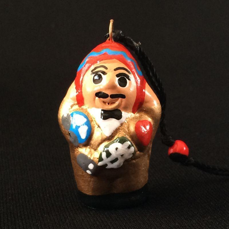 ゴールデン!!!エケコ(エケッコー)人形ストラップ&幸運の実ワイルーロ