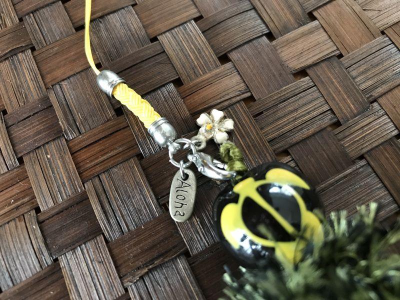 画像2: ハワイのお守り 魔除けと幸運☆ククイの実♥パイナップルストラップ ホヌ