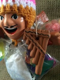 エケコ(エケッコー)人形用小物 ミニチュア楽器・幸運の音色♪サンポーニャ【小物のみの価格】