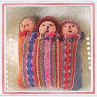 NEW♪子宝に恵まれますように〜古布 おくるみ人形【FRau(フラウ)・赤ちゃんが欲しい 2015 春 掲載商品】
