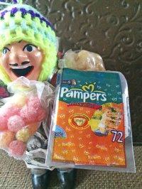 エケコ人形用小物 お願い 元気に育ってね 赤ちゃん❤ボリビア紙おむつ 【小物のみの価格】