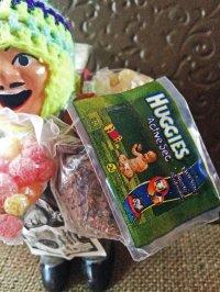 エケコ人形用小物 お願い 元気に育ってね 赤ちゃん❤ボリビア紙おむつ H 【小物のみの価格】