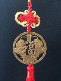 どんな願いにも!掛けかえれる 風水・昇鯉 福飾り