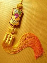 受け継がれる幸福のお守りノリゲ 葡萄 黄