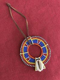 マサイ族の美の象徴★ビーズ飾り Y