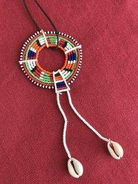 マサイ族の美の象徴★ビーズ飾り G
