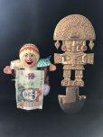 画像6: BIG! 大強運と大金運に恵まれるパワーが秘められた ペルーの聖なる黄金の大きなナイフ★トゥミ B