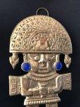 画像2: BIG! 大強運と大金運に恵まれるパワーが秘められた ペルーの聖なる黄金の大きなナイフ★トゥミ B【モノ・マガジン2019年10-16号掲載商品】