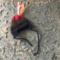 エケコ人形用小物 ニット帽(12.5〜15センチのエケコ人形用) B&R
