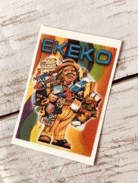 エケコ人形パワーをいつも持ち歩こう!カード エケコ人形小物