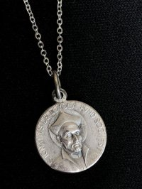 スピリチュアル関係のお仕事に 聖イグナチオ・デ・ロヨラ ペンダント
