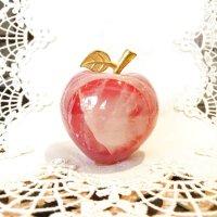 愛と喜びを運ぶ オニキスりんご桃色