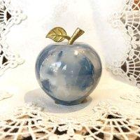 愛と喜びを運ぶ オニキスりんご青色