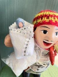 エケコ人形用小物 赤ちゃんが欲しい❤おくるみ フェルトW【小物のみの価格】