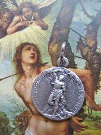 スポーツをする者の守護聖人 聖セバスチャン・メダイ