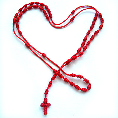 画像1: メキシカンロザリオ☆愛と情熱 恋のクロス