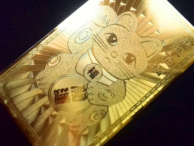 画像3: 開運♪金運招福 まねき猫護符☆