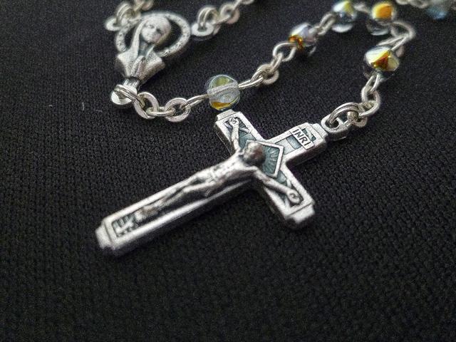 画像4: 【限定】聖なる十字架 愛の祈り ロザリオ ケース付き rainbow