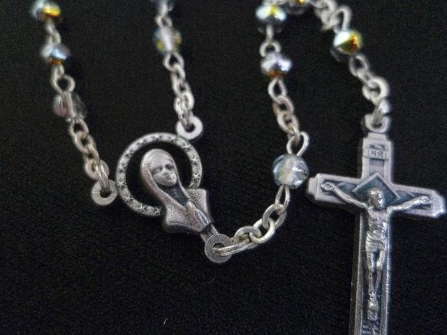 画像5: 【限定】聖なる十字架 愛の祈り ロザリオ ケース付き rainbow