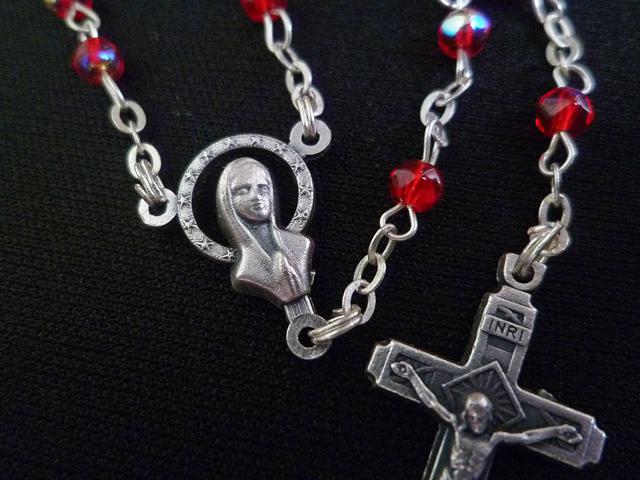 画像5: 【限定】聖なる十字架 愛の祈り ロザリオ ケース付き rose