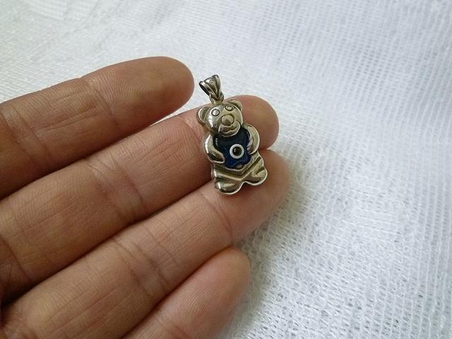 画像3: 厄除け☆ナザールボンジュウ ベアーTOP silver925