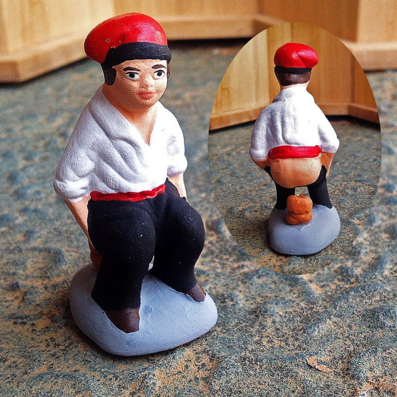 画像1: 金運!健康!恋愛も豊かに導く!スペインの排便人形カガネル