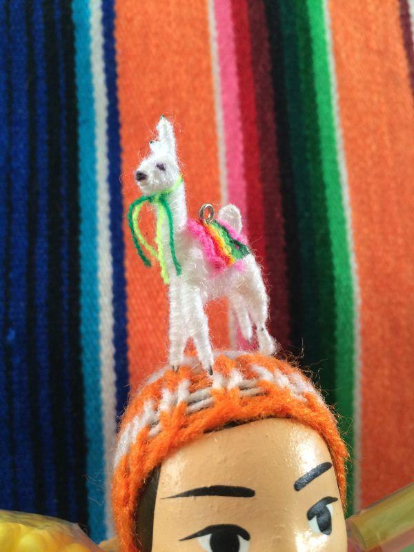 画像2: エケコ人形用小物 リャマはお友達♪【小物のみの価格です】