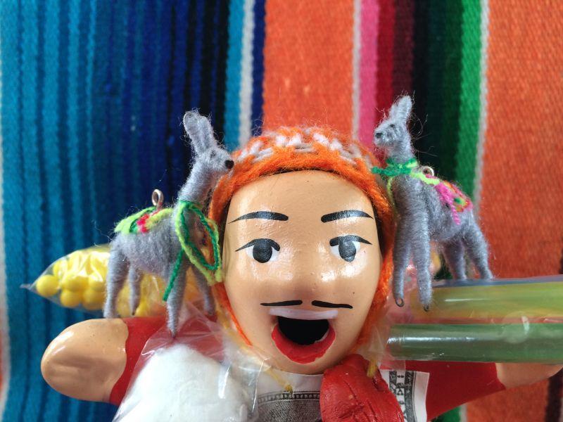 画像1: エケコ人形用小物 リャマはお友達♪ グレー 【小物のみの価格です】