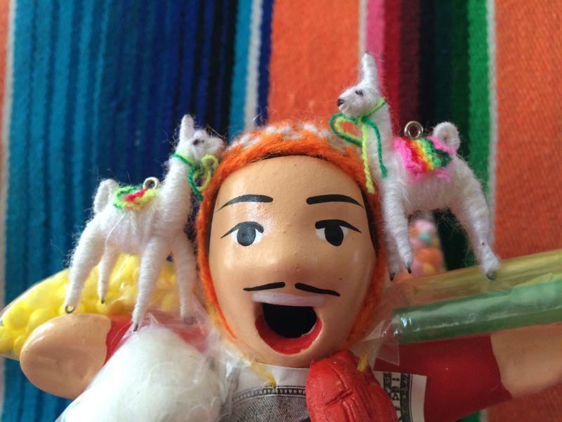 画像1: エケコ人形用小物 リャマはお友達♪【小物のみの価格です】