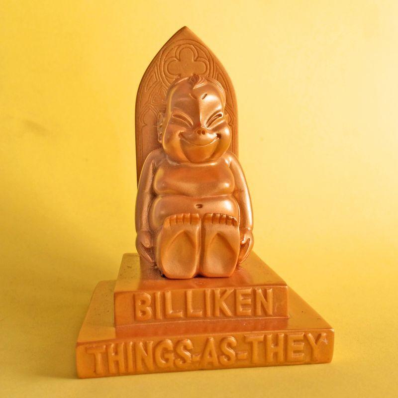画像1: 【再入荷】黄金の幸運ビリケン オブジェ