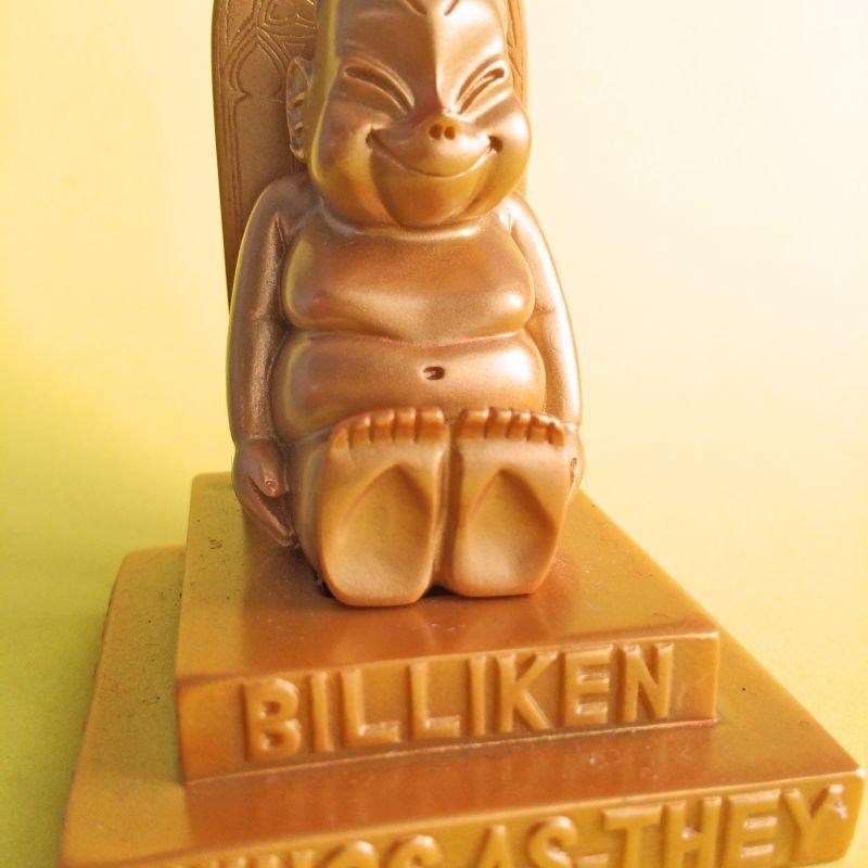 画像2: 【再入荷】黄金の幸運ビリケン オブジェ