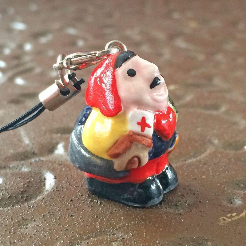 画像3: 元祖!幸せを呼ぶエケコ(エケッコー)人形ストラップ
