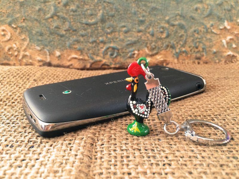 画像3: 幸運を呼ぶ♪ポルトガル〜幸せのバルセロスの小さなニワトリキーリング BK-仕事運