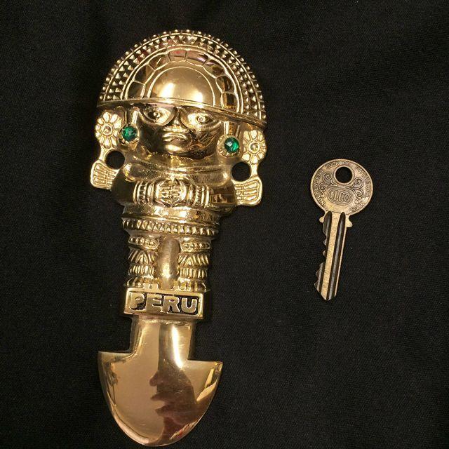 画像5: 強運と金運に恵まれるパワーが秘められた ペルーの聖なる黄金のナイフ★トゥミ