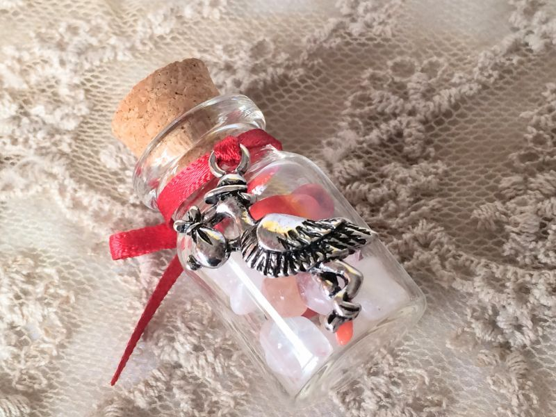 画像3: コウノトリ!赤ちゃんを運んできて★ママになるための赤珊瑚お守り【エケコ人形用小物。小物のみの価格】