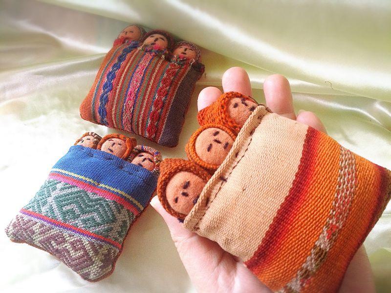 画像4: NEW♪子宝に恵まれますように〜古布 おくるみ人形【FRau(フラウ)・赤ちゃんが欲しい 2015 春 掲載商品】
