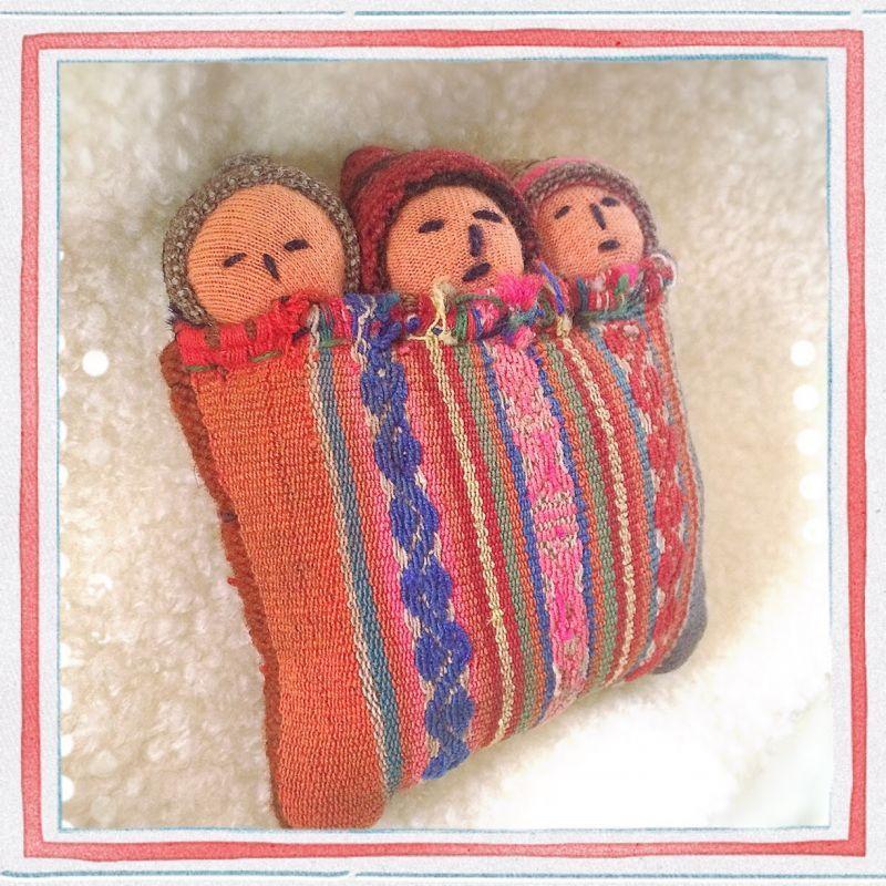 画像2: NEW♪子宝に恵まれますように〜古布 おくるみ人形【FRau(フラウ)・赤ちゃんが欲しい 2015 春 掲載商品】