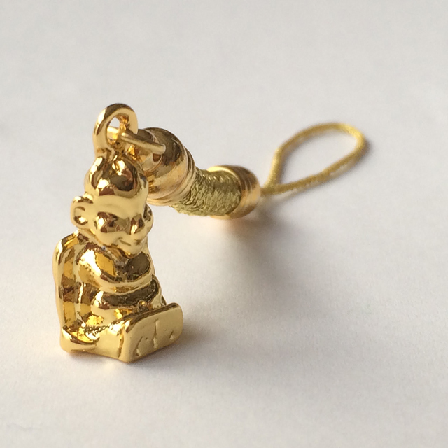 画像1: 願いを叶える!黄金色のビリケン根付