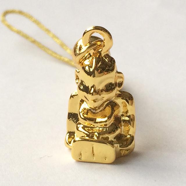 画像3: 願いを叶える!黄金色のビリケン根付