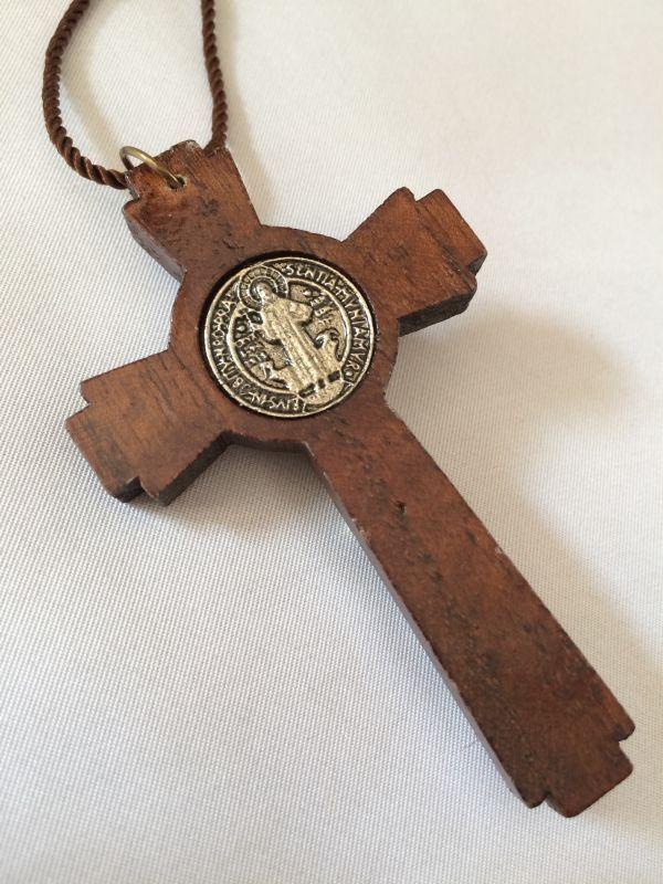 画像3: 魔除けの聖ベネディクト★ウッドクロス