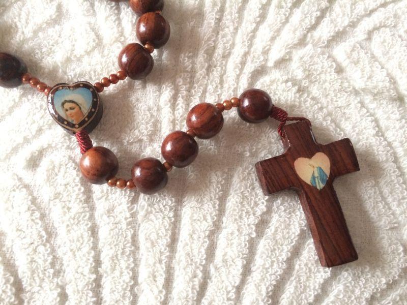 画像4: 【限定】聖なる十字架 祈りのロザリオ ウッド B