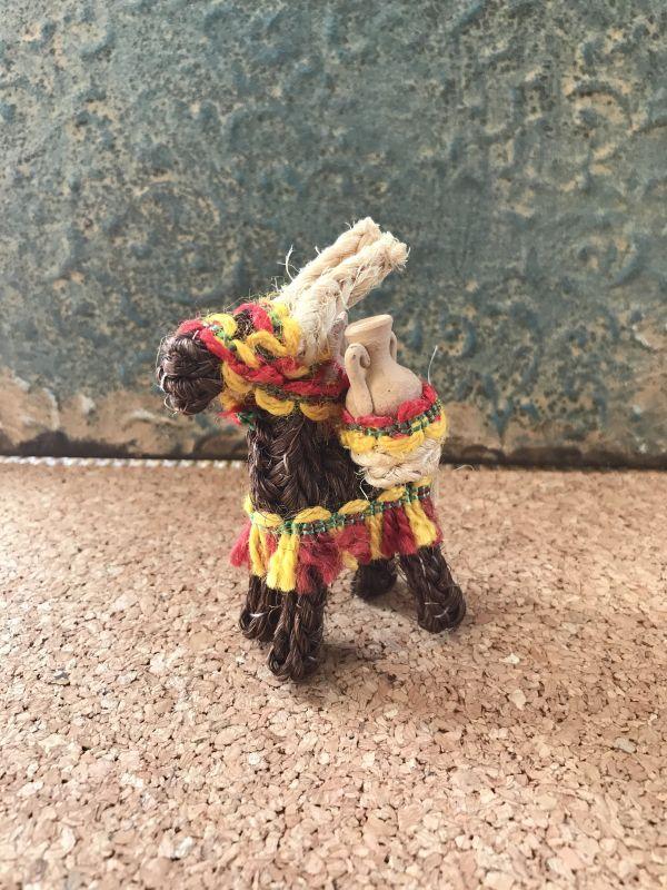 画像1: スペインのロバ☆仕事運のお守り ブラウン