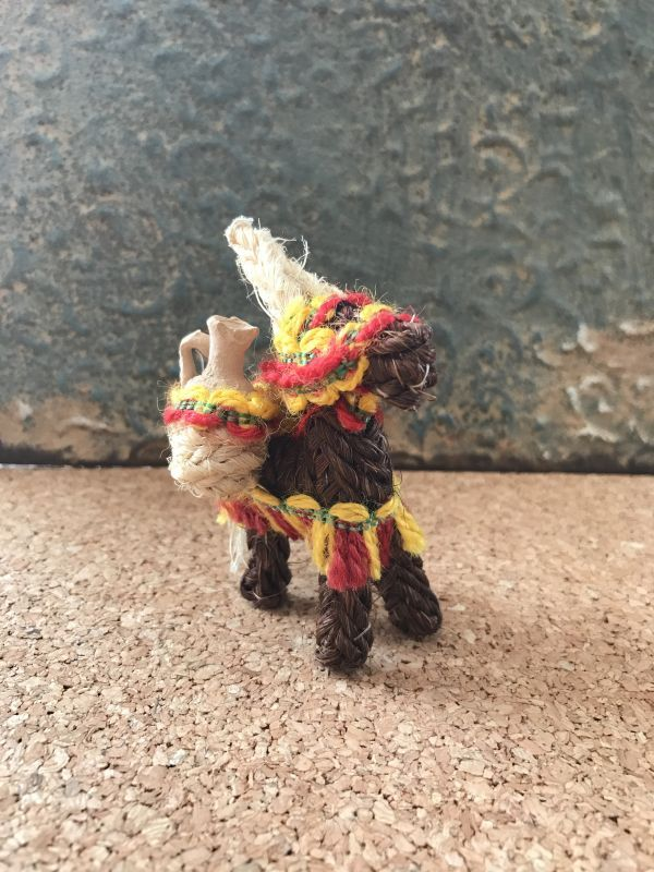 画像2: スペインのロバ☆仕事運のお守り ブラウン