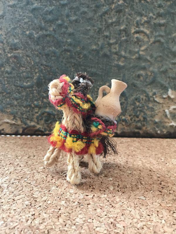 画像1: スペインのロバ☆仕事運のお守り SーブラウンS