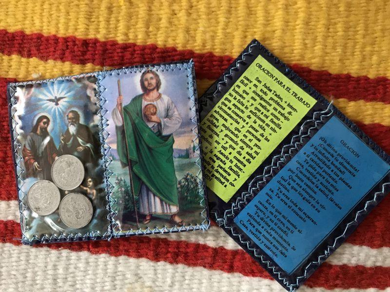 画像3: 不可能を可能にする聖人 サン・フダス・タデオ お守り