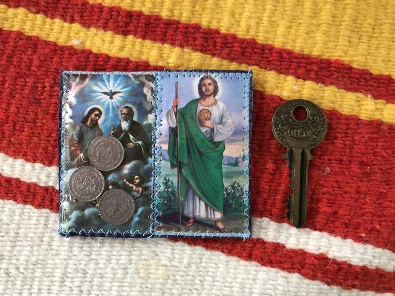 画像5: 不可能を可能にする聖人 サン・フダス・タデオ お守り