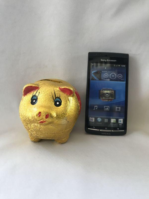 画像4: お金が貯まる 金ブタ・宝船 貯金箱