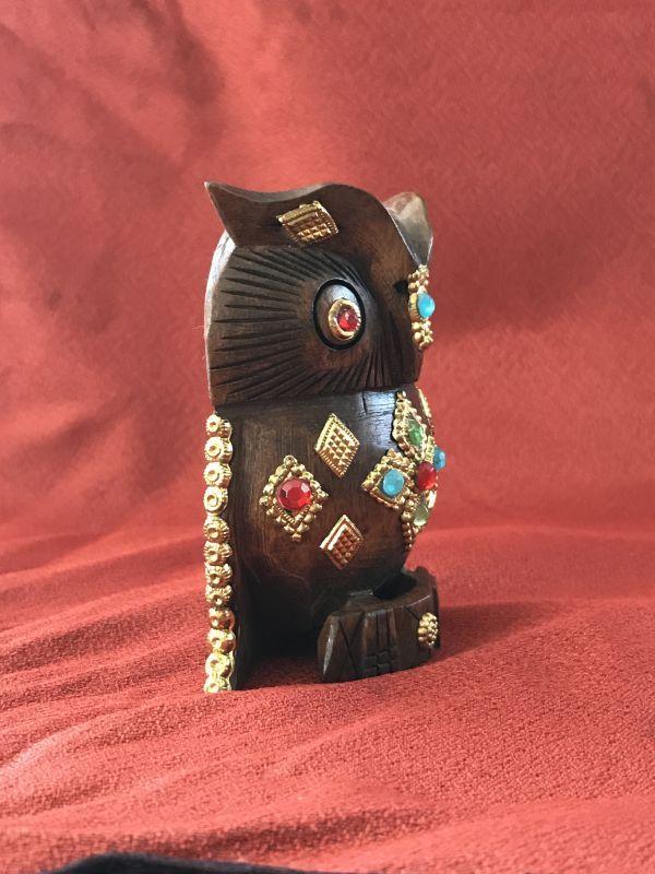 画像4: 神様の乗り物 インドの宝石ふくろう