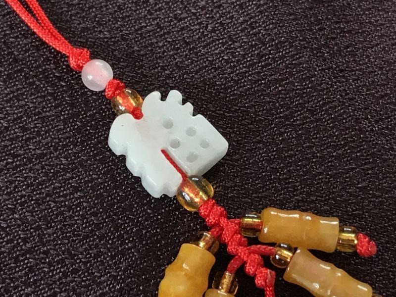 画像3: 福を招き邪気を祓う 爆竹(翡翠) 飾り